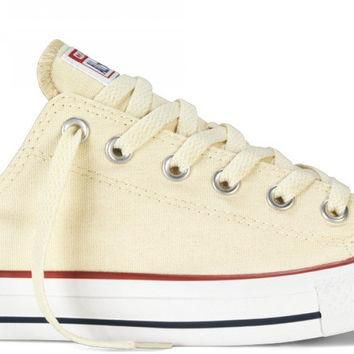 CONVERSE CHUCK TAYLOR ALL STAR LOW TOP UNBLEACHED WHITE