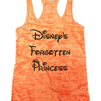 Disney's Forgotten Princess Burnout Tank Top By Funny Threadz