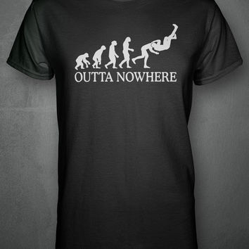 Evolution RKO Outta Nowhere - Wrestling Inspired T-shirt