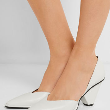 Stella McCartney - D'Orsay faux leather pumps