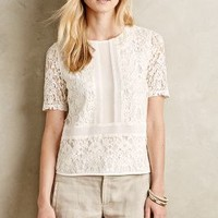 Ellis Lace Top by Sunday in Brooklyn White