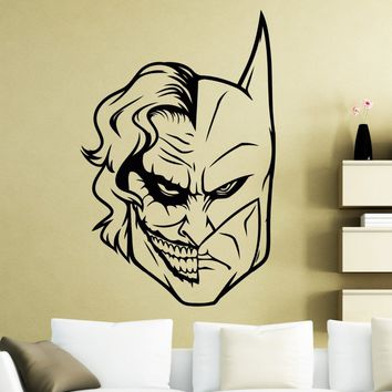 DC Marvel Comics Wall Decal Superhero/Antihero Vinyl Wall Sticker