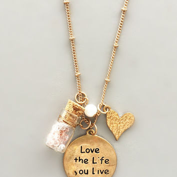 Love Life Charm Necklace