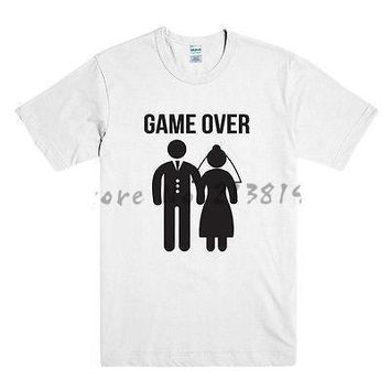 Game Over - Wedding Funny T-shirt
