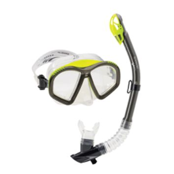 SPEEDO Hydroflight Mask/Dry Top Snorkel Set - Metro Swim Shop
