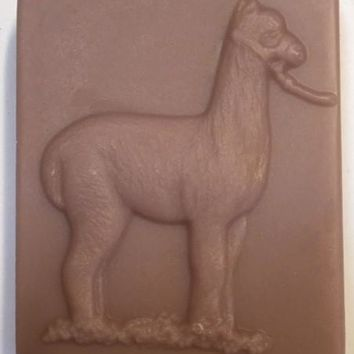Hand-made Alpaca Figure Goat Milk Soap