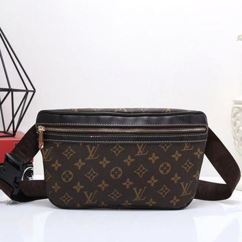 LV Louis Vuitton Women's Shopping Leather Wallet Waist Shoulder Bag Messenger F