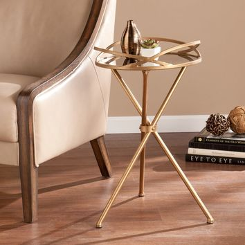 Harper Blvd Linda Metal Mirrored Accent Table | Overstock.com Shopping - The Best Deals on Coffee, Sofa & End Tables