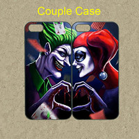 Joker and Harley Quinn iphone 5s case cute iphone 5 case cool iphone 5c case iphone 5s cases iphone 4s case pop iphone 5c cover hard cases