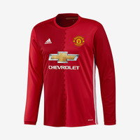 Manchester United 2016-17 Long-Sleeve Home Jersey