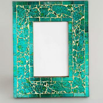 Handcrafted Moroccon Sea Glass Frame