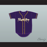 Prince Tribute Purple Rain Baseball Jersey