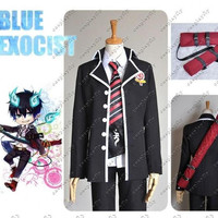 HOT Anime Blue Exorcist Cosplay Sword Bag Special Back Bag Cartoon Props Accessories