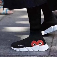 Balenciaga Women's Fashion Trendy Breathable Sneakers Running Shoes F