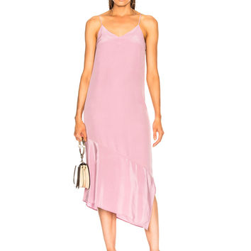 Equipment Jada Dress in Orchid Smoke | FWRD