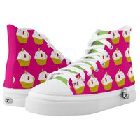 Gummy Bear Cupcakes Printed Shoes