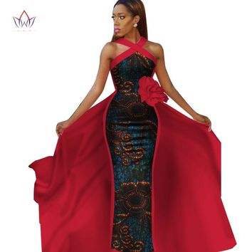 Women Formal Dresses African Style Print