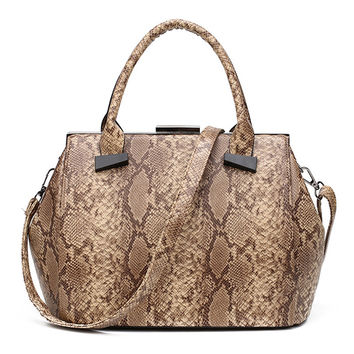 Luxury Serpentine  Snake Women Bags Designer