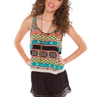 Shirley Aztec Top