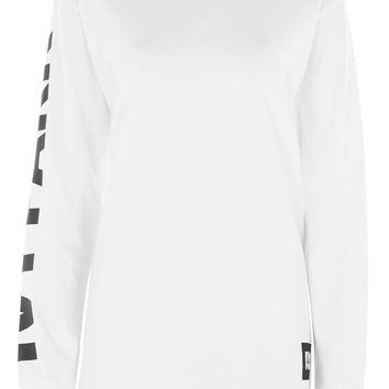 Logo Oversized Tee by Ivy Park | Topshop