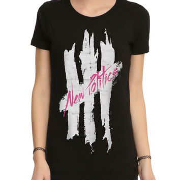 New Politics Logo Girls T-Shirt