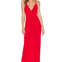 Toby Heart Ginger x Love Indie Polly Maxi Dress in Red