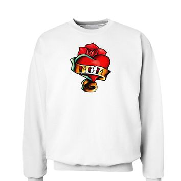 Tattoo Heart Mom Sweatshirt