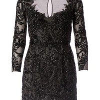 Zuhair Murad Sequin Embellished Mesh Mini Dress - L'eclaireur - Farfetch.com
