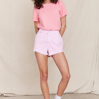 Urban Renewal Recycled Overdyed Denim Short   Urban Outfitters