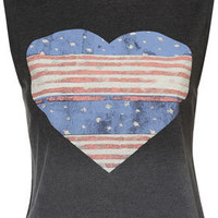 Petite American Heart Vest - New In This Week - New In - Topshop USA