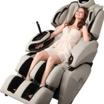 Fujita KN9003 Massage Chair Recliner-Zero Gravity -From Head to Toe! (French Gray)