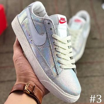NIKE WMNS BLAZER MID SDE Tesco casual shoes classic low-top shoes F-AA-SDDSL-KHZHXMKH #3