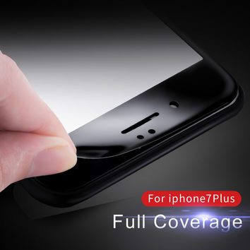 Vpower Tempered Glass For iPhone 7/ 7 plus Screen Protector Ultra Thin 3D soft side edge 9H Protective Film
