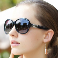 Cut Out Rectangle Metal Sunglasses