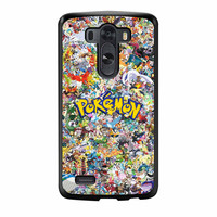 Pokemon All Character LG G3 Case