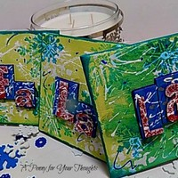 Fa, La, La Mixed Media Canvas Board. Ready to Ship