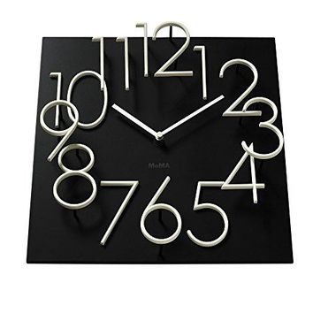 Glow in the Dark Wall Clock MoMA Exclusive: Home & Kitchen