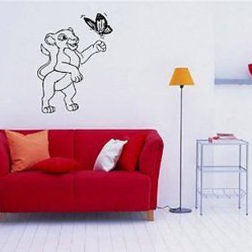 Lion King Cartoon Wall Art Sticker Decal 337