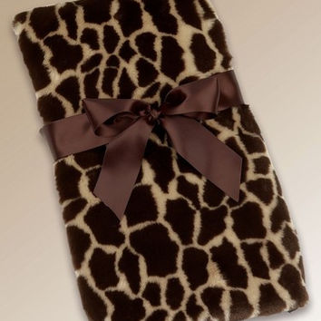 Giraffe Couture Baby Blanket