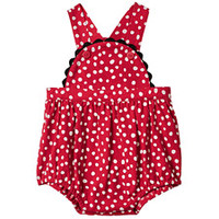 Le Top, Newborn Girls Ladybug Sunsuit