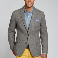 The Nottingham Blazer - Khaki Herringbone