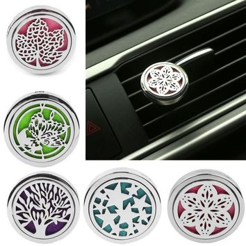 Vehemo Car Perfume Aromatherapy Essential Oil Diffuser Air Vent Flavoring Car-styling Air Freshener Decoration Perfumes Clip
