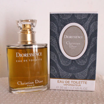 Vintage Dioressence 50ML-1.7FL.OZ. EDT 2nd Version New Bottle!