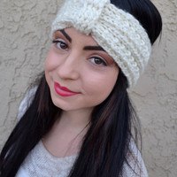 Knitted Turban Headband