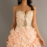 Strapless Jasz Homecoming Dress 4403