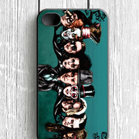 Johnny Depp Face Tree iPhone 4 Case