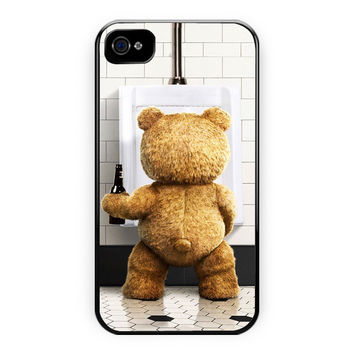 Ted Funny Bear iPhone 4/4S Case