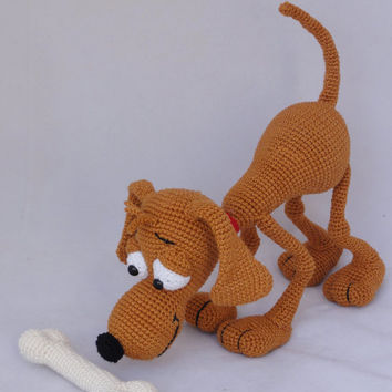 Doug the Dog - Amigurumi Crochet Pattern