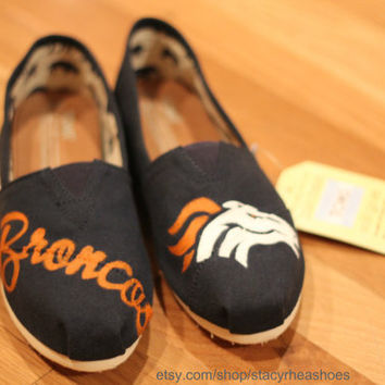 Denver Broncos TOMS Football