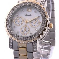 Bling Boyfriend Style Watch